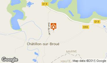 Mappa Giffaumont-Champaubert Agriturismo 39052