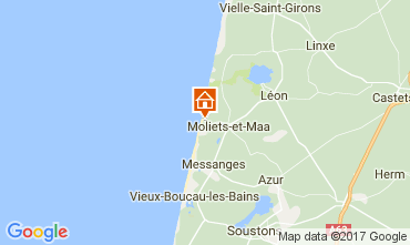 Mappa Moliets Casa 110649