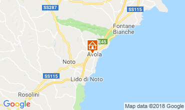 Mappa Avola Appartamento 57459