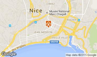 Mappa Nizza Appartamento 87627