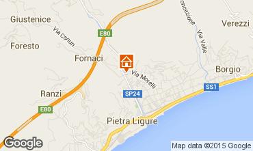 Mappa Pietra Ligure Appartamento 95260