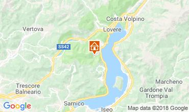 Mappa Riva di Solto Appartamento 113416