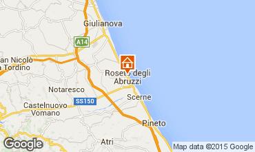 Mappa Roseto degli Abruzzi Appartamento 54453