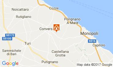 Mappa Polignano a Mare Villa  70846