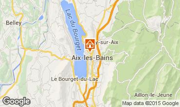 Mappa Aix Les Bains Appartamento 80483