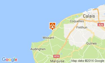 Mappa Wissant Villa  106827