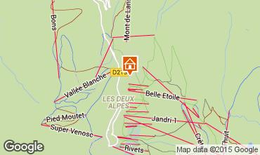 Mappa Les 2 Alpes Chalet 91812