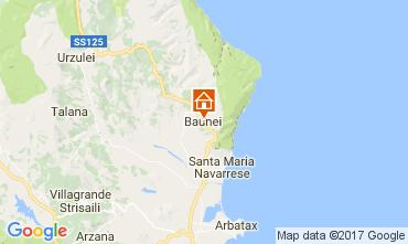 Mappa Baunei Appartamento 61401