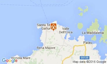 Mappa Santa Teresa di Gallura Villa  82142