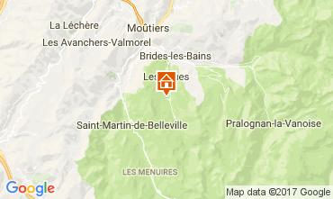 Mappa Méribel Chalet 111804