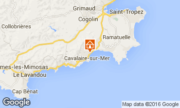 Mappa Cavalaire-sur-Mer Appartamento 102534