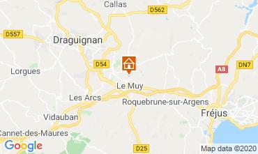 Mappa Sainte Maxime Villa  116281
