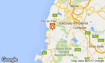 Mappa Flic-en-Flac B&B 61030