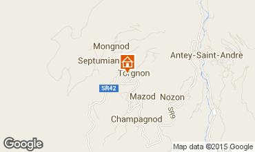 Mappa Torgnon Appartamento 74280