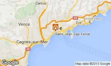 Mappa Nizza Appartamento 28384
