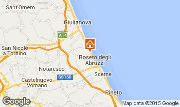 Mappa Roseto degli Abruzzi Appartamento 48897