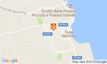Mappa Torre dell'Orso Casa 114731