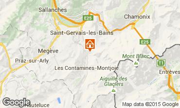 Mappa Les Contamines Montjoie Chalet 980
