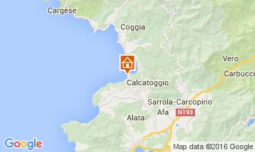 Mappa Ajaccio Villa  105031