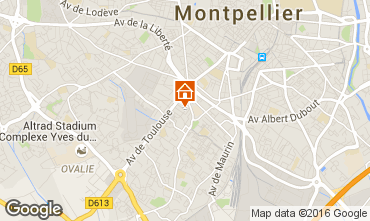 Mappa Montpellier Appartamento 102919