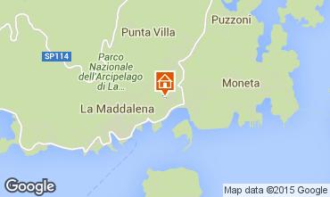 Mappa La Maddalena Appartamento 79003