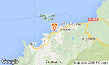 Mappa Calvi Casa 99555
