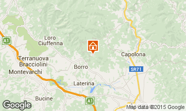 Mappa Arezzo Agriturismo 57056