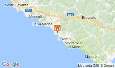 Mappa Bonassola Appartamento 101305