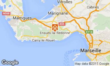 Mappa Ensues La redonne Monolocale 11815