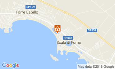 Mappa Porto Cesareo Appartamento 109980