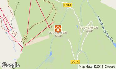 Mappa Courchevel Appartamento 92511