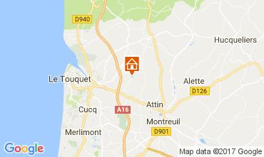 Mappa Etaples Villa  112454