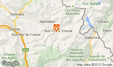 Mappa Sixt Fer � Cheval Agriturismo 3066