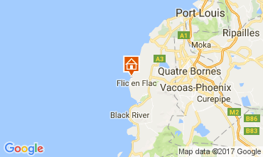 Mappa Flic-en-Flac Casa 111668