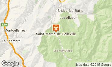 Mappa Saint Martin de Belleville Chalet 2650
