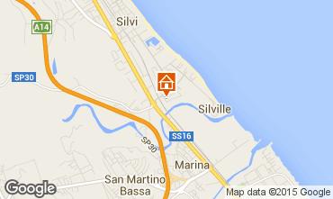Mappa Silvi Marina Appartamento 79049