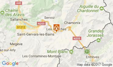 Mappa Chamonix Mont-Blanc (Monte Bianco) Appartamento 68975