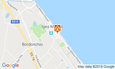 Mappa Bellaria Igea Marina Appartamento 70343