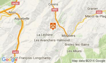 Mappa Doucy Combelouvière Appartamento 106032