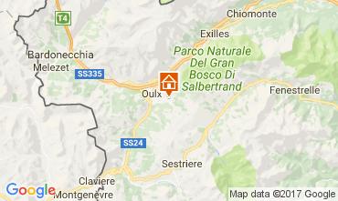 Mappa Sauze d'Oulx Appartamento 101121