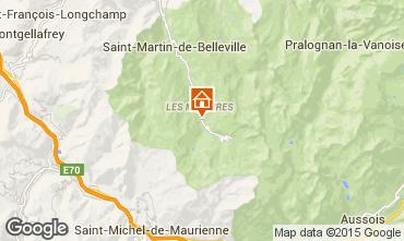 Mappa Les Menuires Chalet 74891