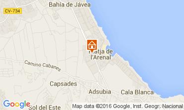 Mappa Jávea Appartamento 103255