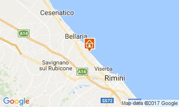 Mappa Bellaria Igea Marina B&B 109717