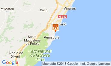 Mappa Peñíscola Appartamento 32523