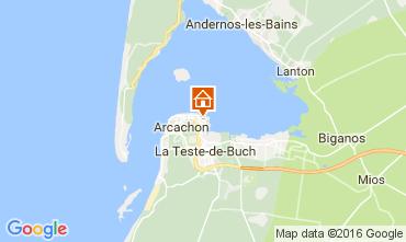 Mappa Arcachon Appartamento 106583