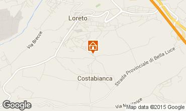 Mappa Loreto Appartamento 87954