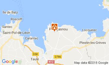 Mappa Plougasnou Casa 112881