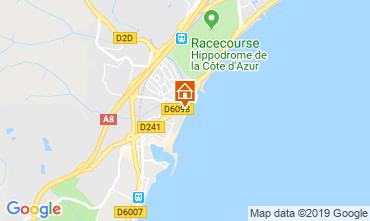 Mappa Villeneuve-Loubet Appartamento 118861