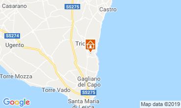 Mappa Tricase Villa  119818