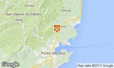 Mappa Porto Vecchio Villa  92380